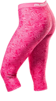Ladies 3-4 Legging Vortex Pink