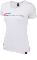 Ladies T-shirt Miss MP White
